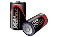 Duracell Procell Battery D (12 per box)