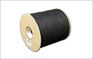 Hartford Cordage Black Cotton Tie Line  - 600ft spool uncoated